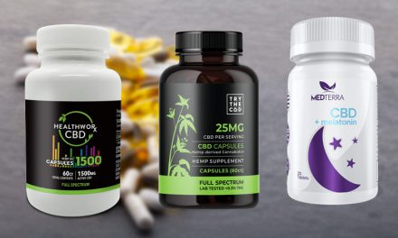 Finest CBD Capsules & Tablets for Discomfort