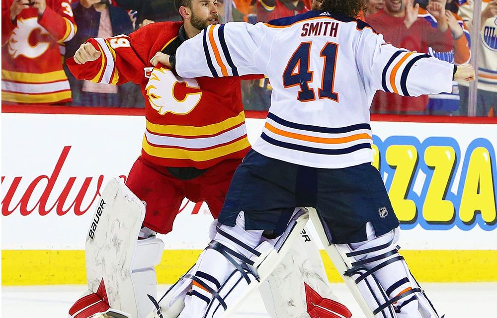 Edmonton Oilers return to Mike Smith in net. Hmm. Can't say I Iike the move.