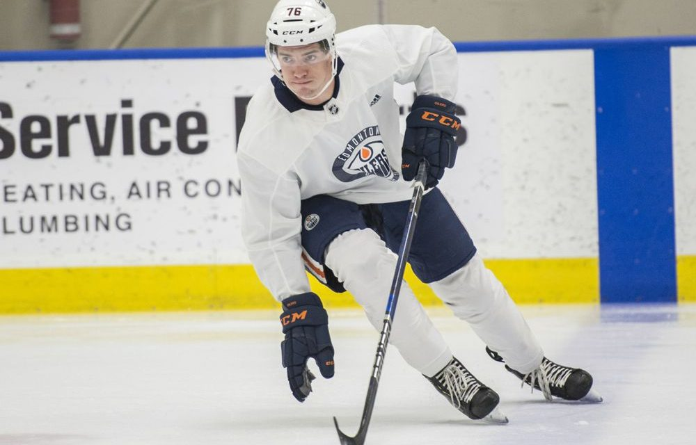 With Ivy League having just cancelled its entire season, Edmonton Oilers' prospect Phil Kemp may be at an inflection point
