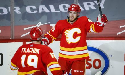 Flames wanting to construct off complete effort in clutch win over Jets