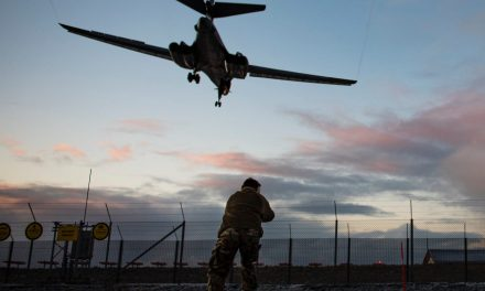 US Flying force bombers are on an 'historical' mission to Norway to let allies understand they'll be 'on target, very first time'