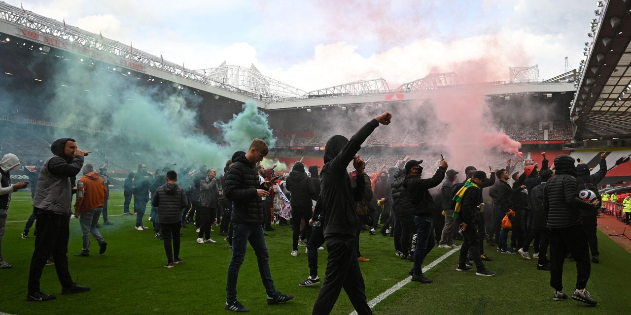 Why the Chaotic Protest at Manchester United's Stadium Was Good, Actually