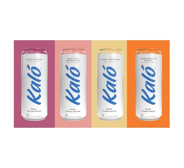 Kaló Hemp Seltzer Welcomes The Summertime Season With 4 New Flavors & Expands Circulation Of Their Hemp Seltzer to Ten States